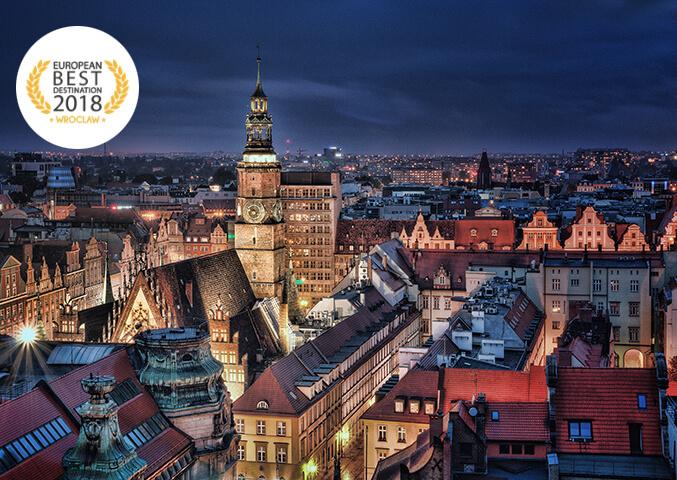 Kampania programmatic promująca miasto Wrocław w konkursie European Best Destination 2018